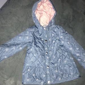 Toddler girl light winter coat
